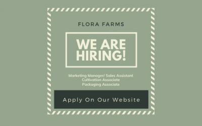 Flora Farms Is Hiring! Learn All About The Open Positions Today