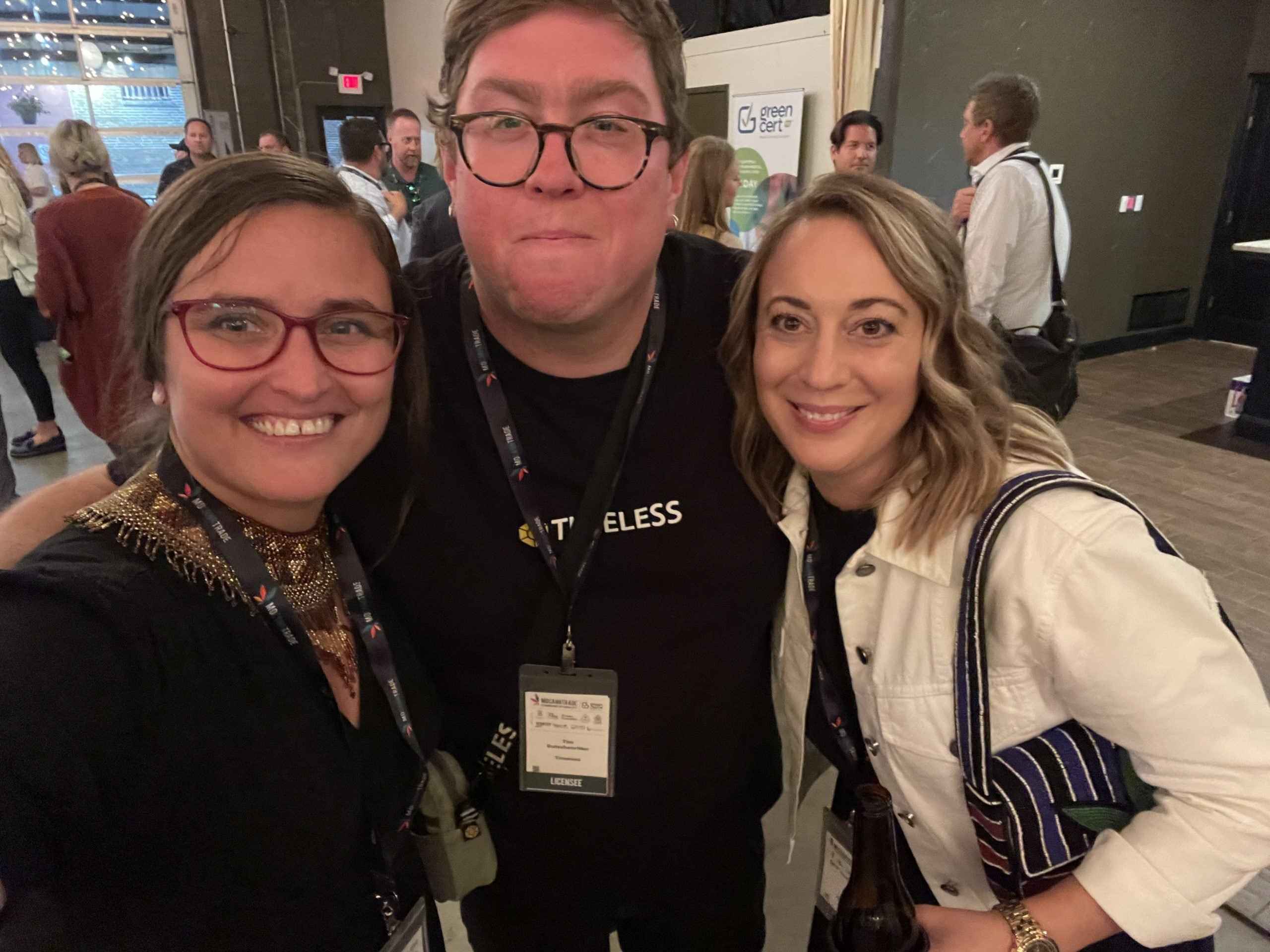 Karla Deel, Tim Gutschenritter --Missouri Manager at Timeless, and Mary Kate Black